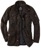 Braunes Field Jacket von Redpoint mit Kordkragen
