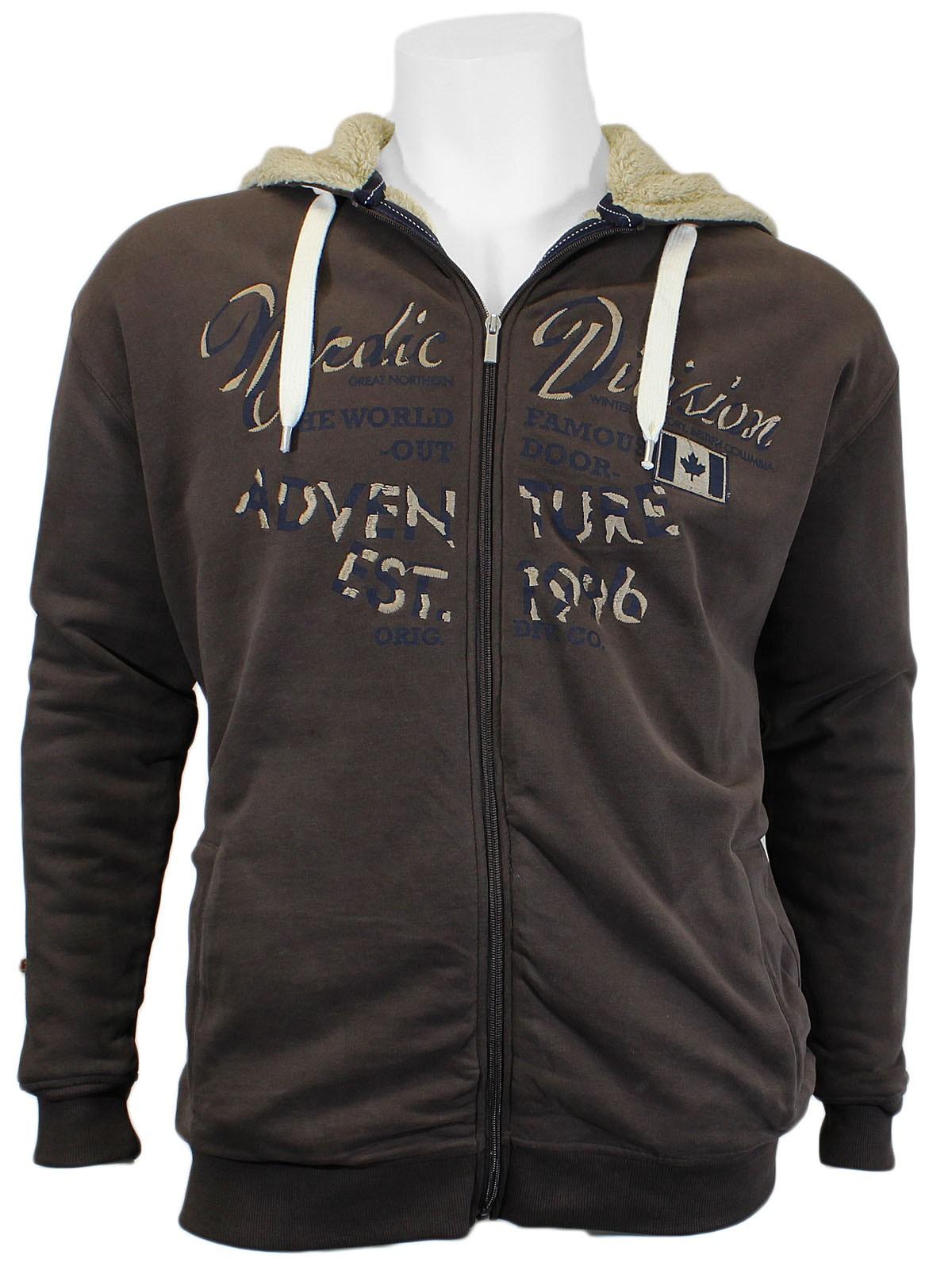 Sweatshirt jacke herren 4xl
