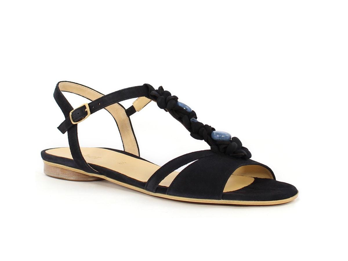 GABOR - Damen Sandaletten - Blau Schuhe in Übergrößen, Größe:42.5